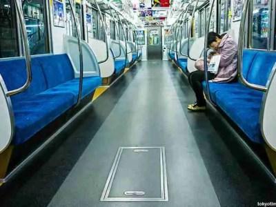 Deserted Tokyo Trains