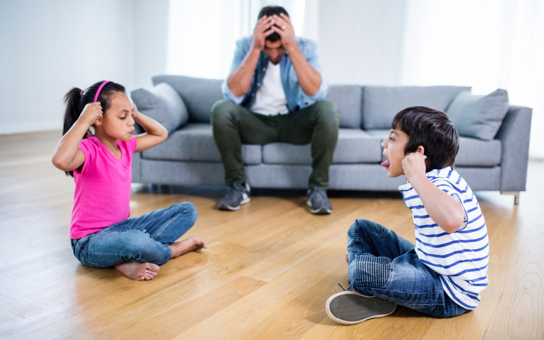 Kids Fighting? How To Keep The Peace