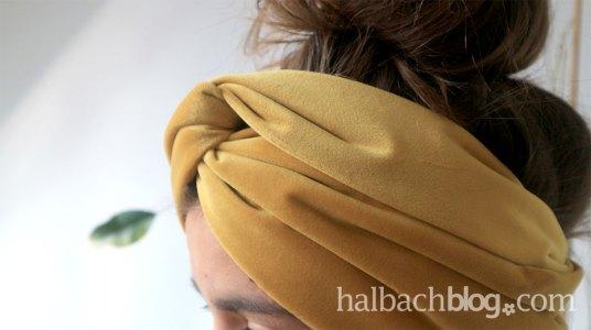 samt-turban-stirnband-naehen-knoten-senfgelb