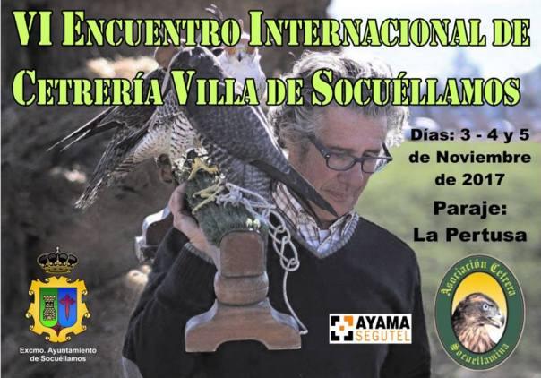 Cartel VI Encuentro internacional de Cetreria