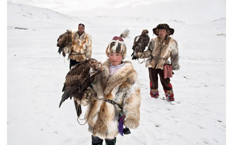 Mujeres halconeras