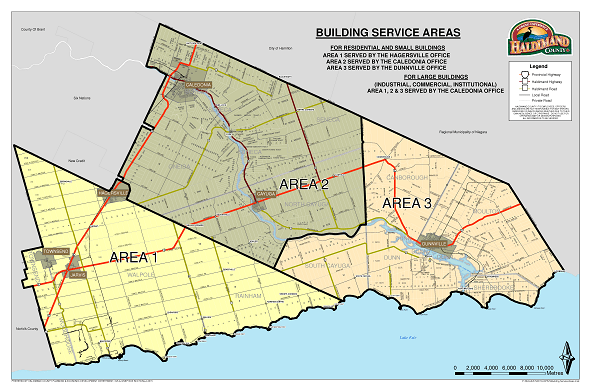 An Area Map of Haldimand County