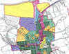 Map of the various by-law zones within Haldimand County
