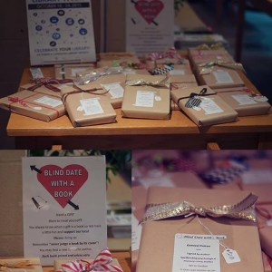 Dunnville Library Friends Blind Date wtih a Book
