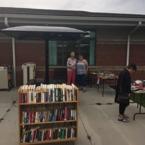 Jarvis Friends of the Library Booksale Outsid