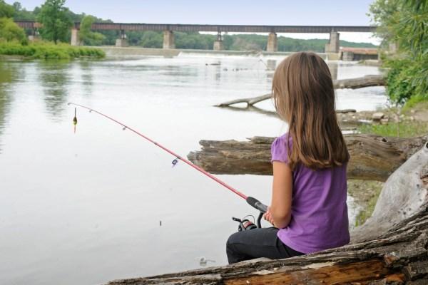 Grand River, Fishing, Haldimand County