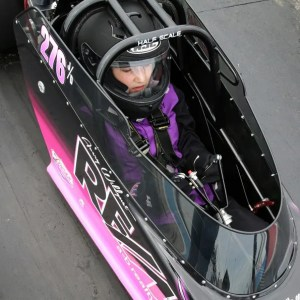 Youth race car driver