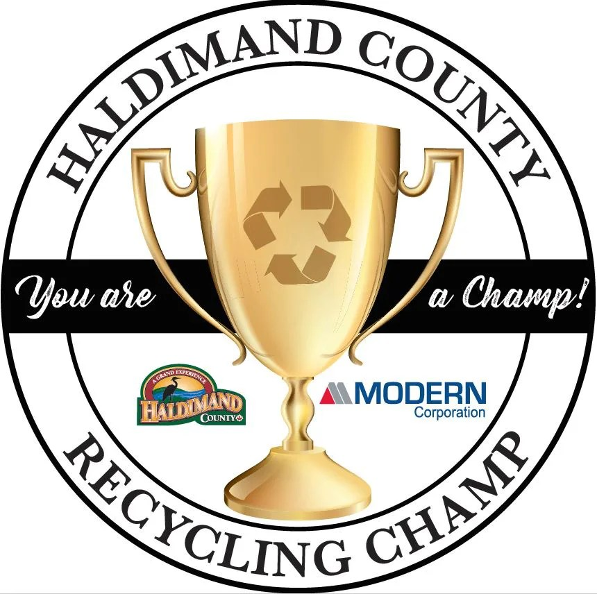 Recycling Champ Trophy
