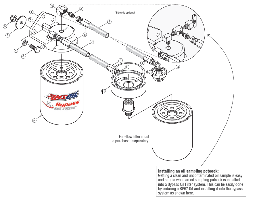 Oil Bypass System for GM / Silverado Heavy-Duty Pickups