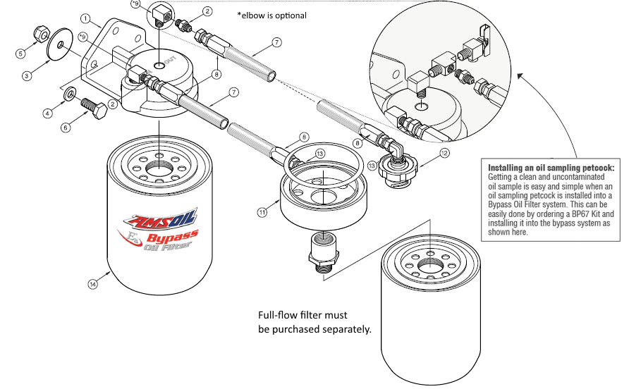 Oil Bypass System for Ford 6.7L Heavy-Duty Pickups