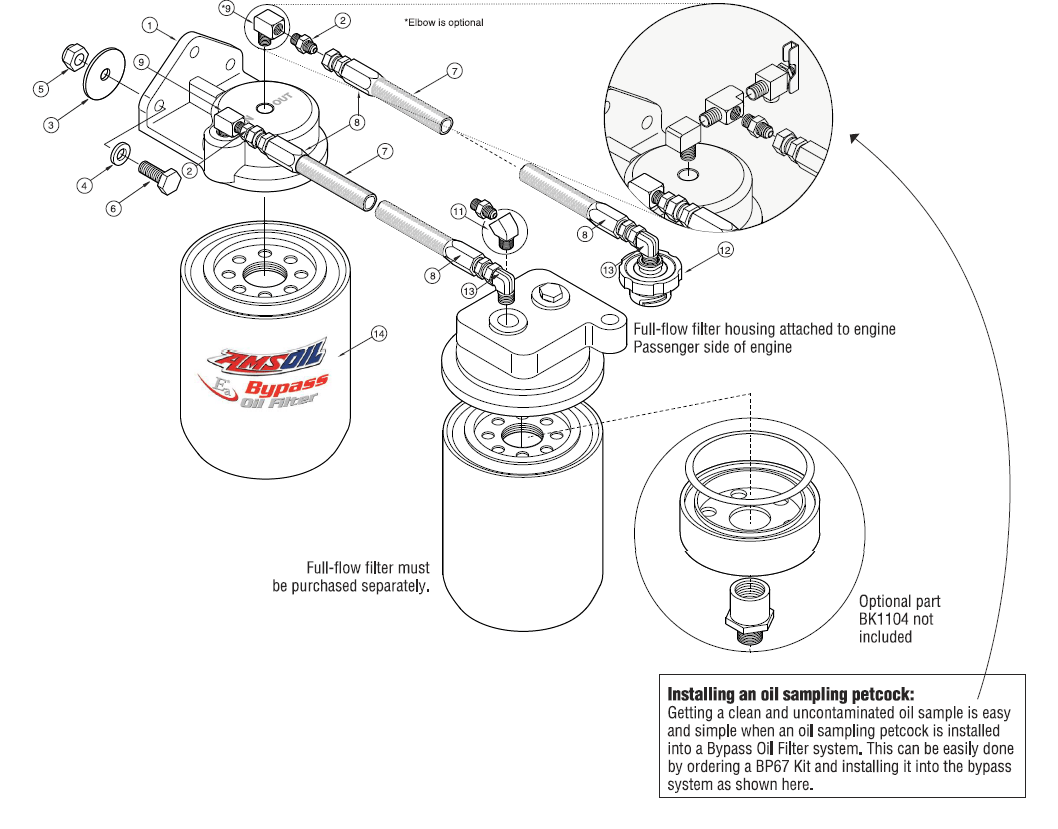 Oil Bypass System for Dodge / RAM Heavy-Duty Pickups