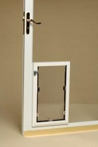 Pet door for sliding glass door