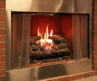 INSTALLING GAS LOG FIREPLACE