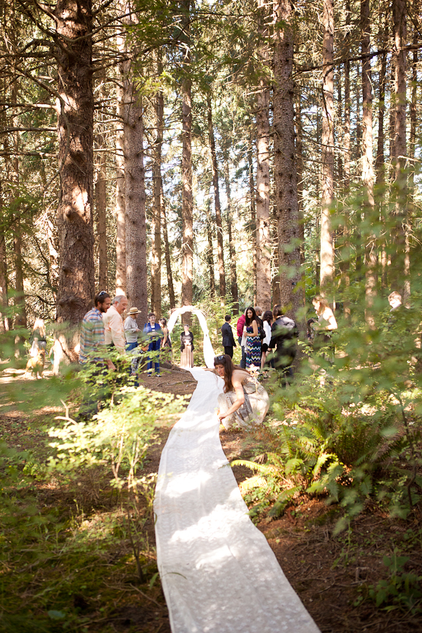 Diane and Alexa  Hoyt Arboretum Wedding  Portland Oregon  Haley Lovett Photography