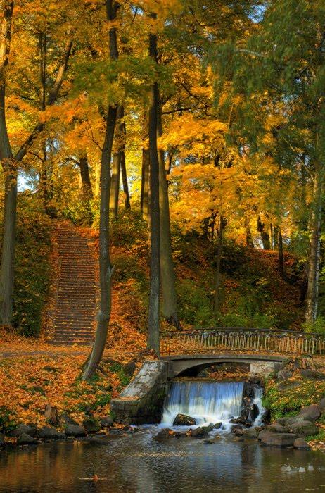 Waterfall Bridge, Latvia