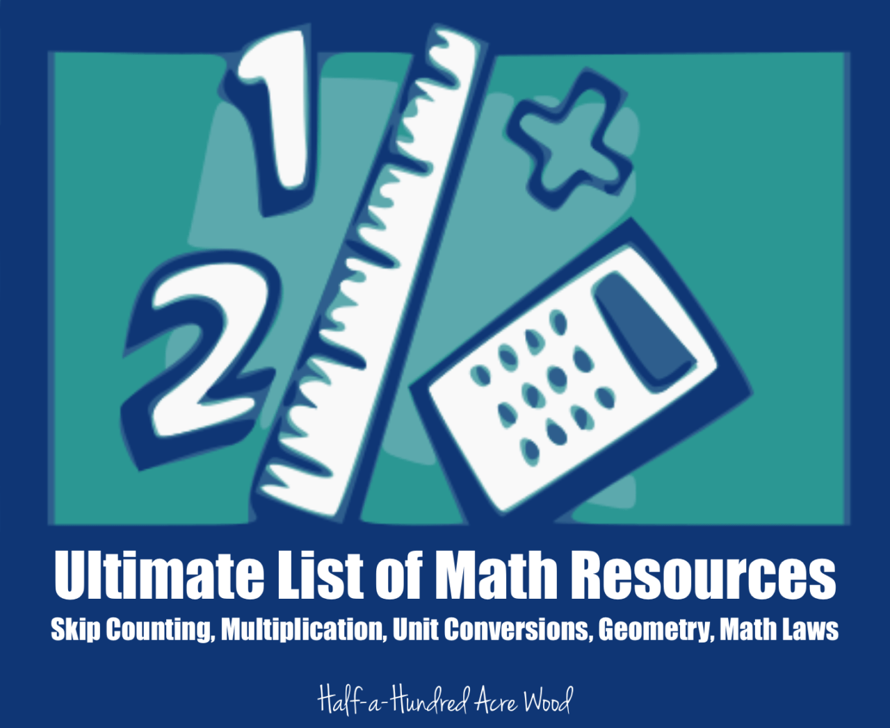 Ultimate List Of Math Resources Operations Conversions