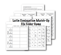 http://www.halfahundredacrewood.com/2013/05/latin-conjugation-match-up-game.html