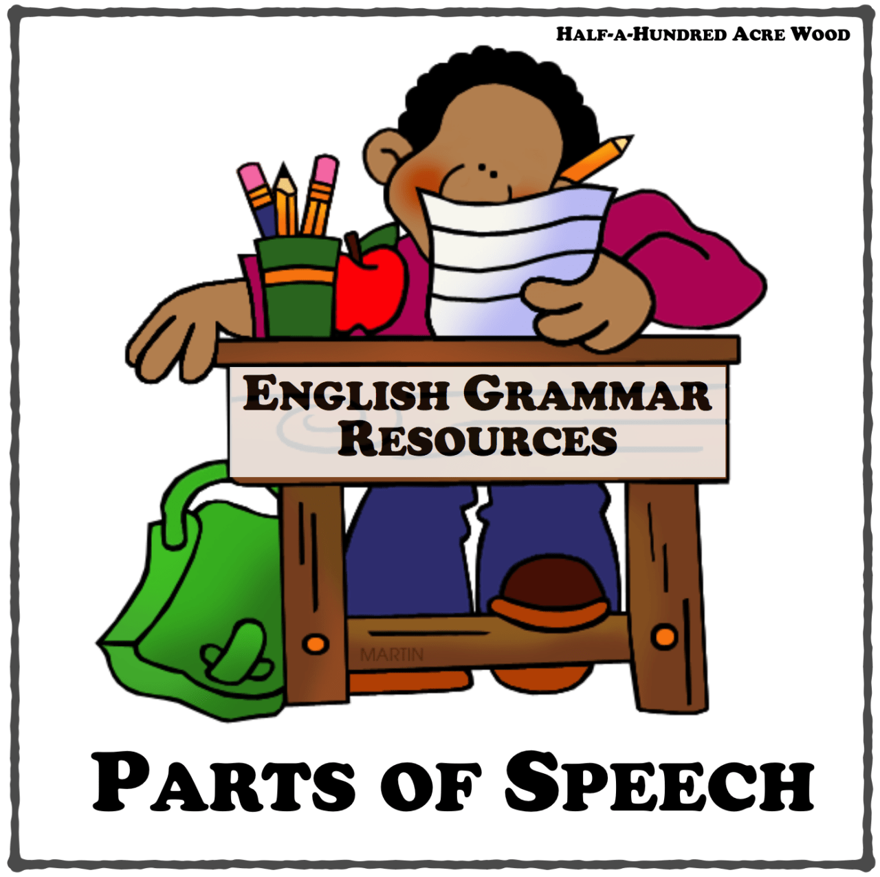 hight resolution of english grammar resources parts of speech