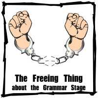 http://www.halfahundredacrewood.com/2014/05/the-freeing-thing-about-grammar-stage/