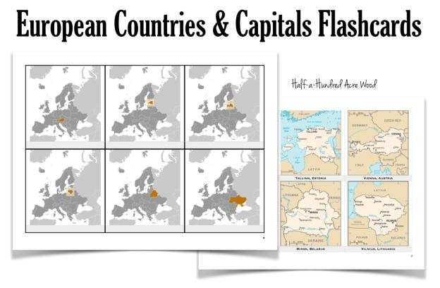Europe Countries Capitals 1