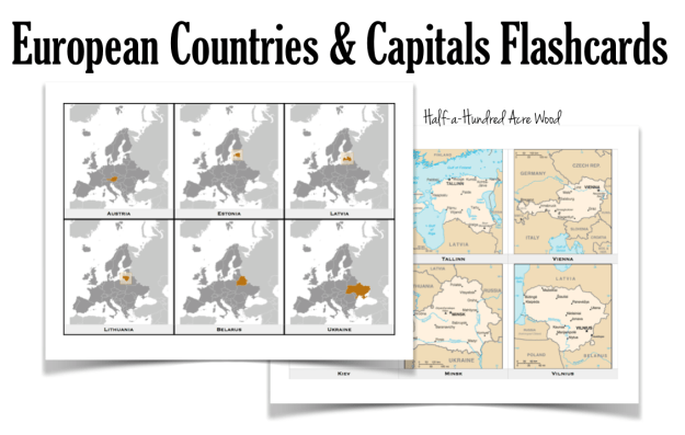 Europe Countries Capitals 2