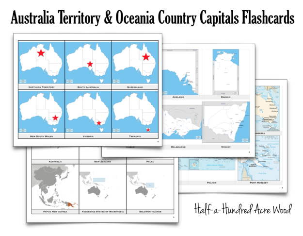 Australia Country Capital Flashcards