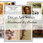 Degas Art Project: Depicting Motion