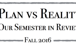 Reality Check: Our Semester in Review