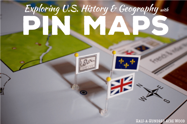 American Revolution Pin Map