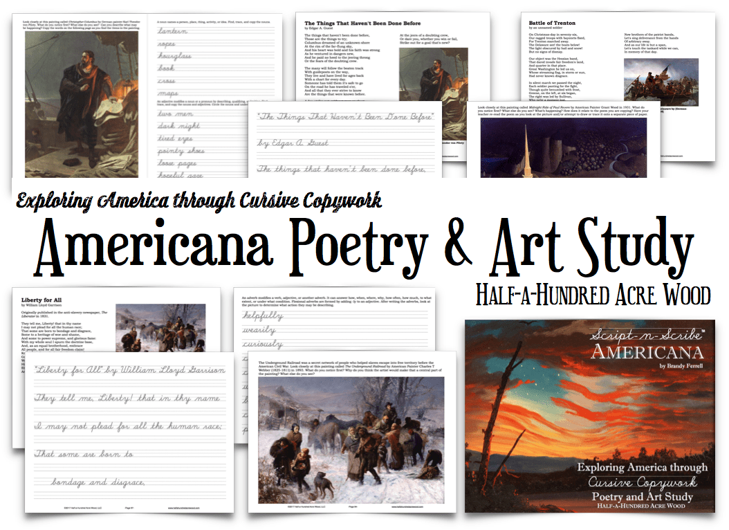 Script-n-Scribe Americana