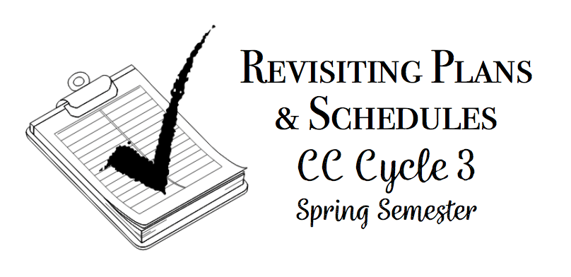 Cycle 3 Spring Semester Plans