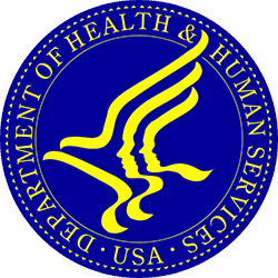Department of Health and Human Services Logo, Featured Client 4 of 9
