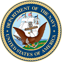 Department of the Navy Logo, Featured Client 6 of 9