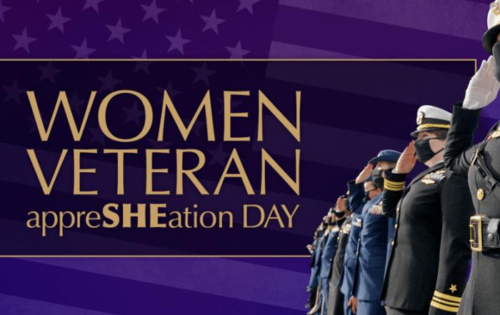 Women Veteran AppreSHEation Day