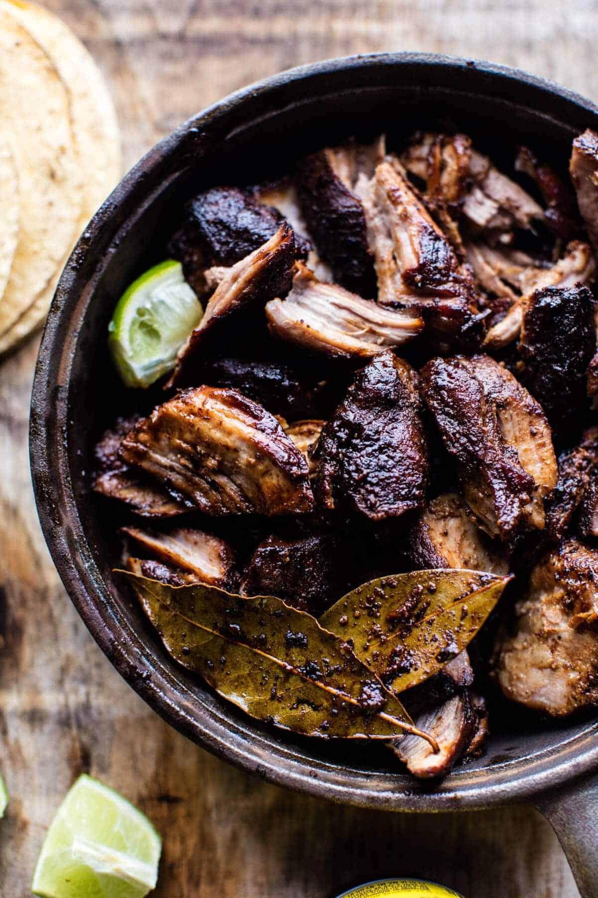 My Favorite Slow Roasted Pork Carnitas | halfbakedharvest.com @hbharvest