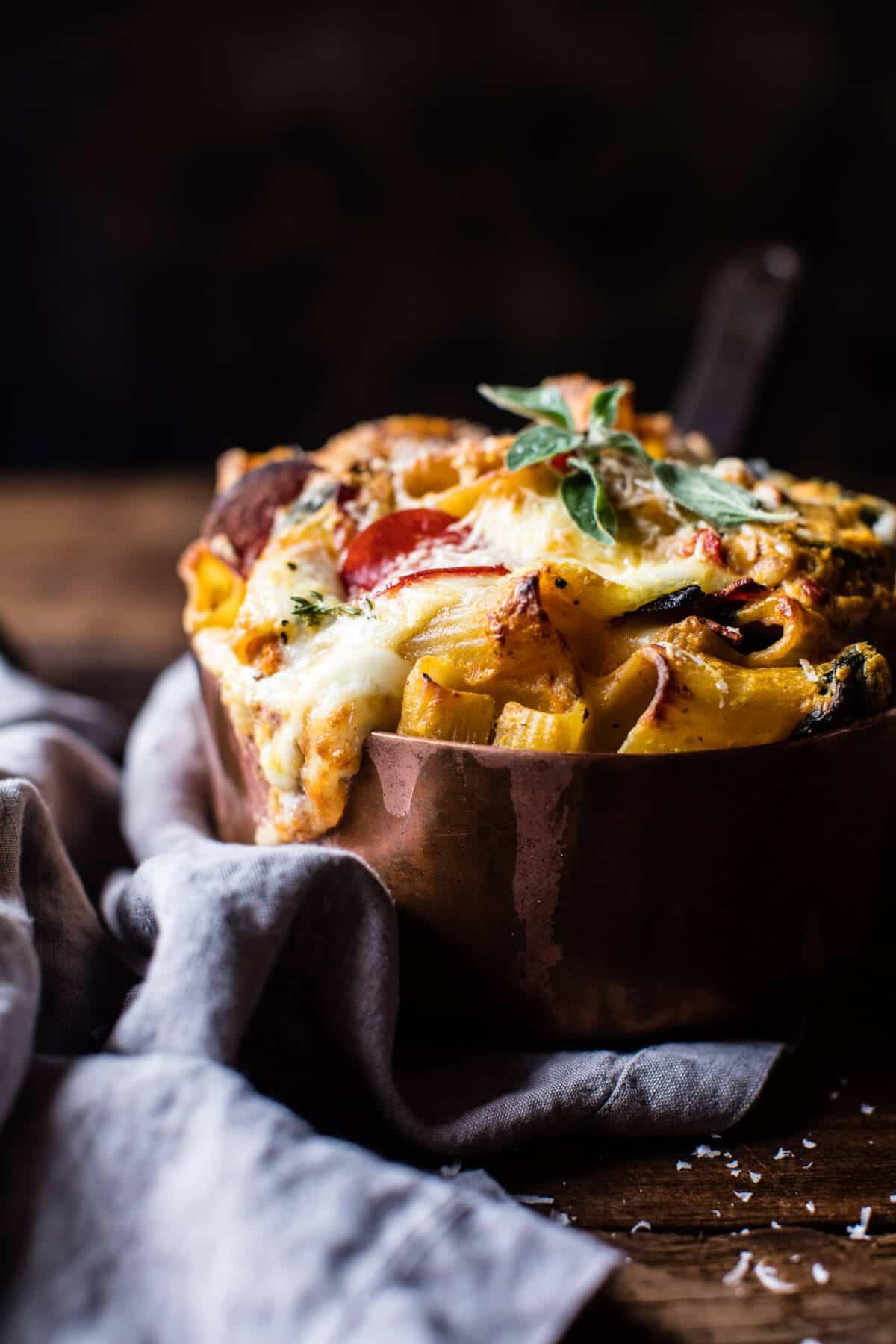 Baked 4 Cheese Butternut Squash Rigatoni   halfbakedharvest.com @hbharvest