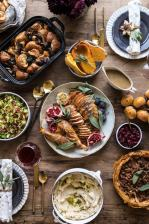 Our 2018 Thanksgiving Menu.