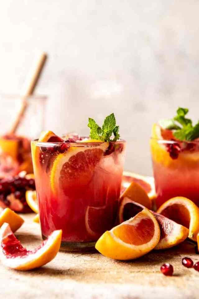 Winter Citrus Tequila Smash