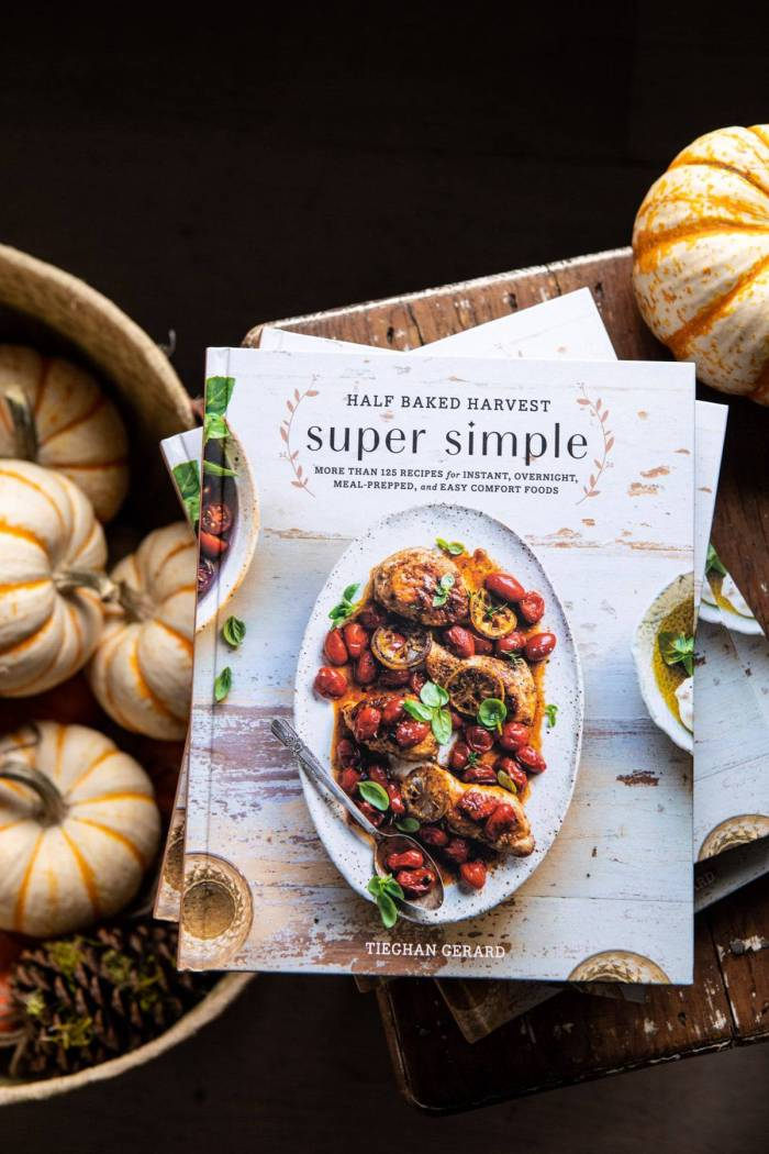 photo of Half Baked Harvest Super Simple cookbook