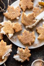 Chai Spiced Maple Sugar Cookies with Browned Butter Frosting.