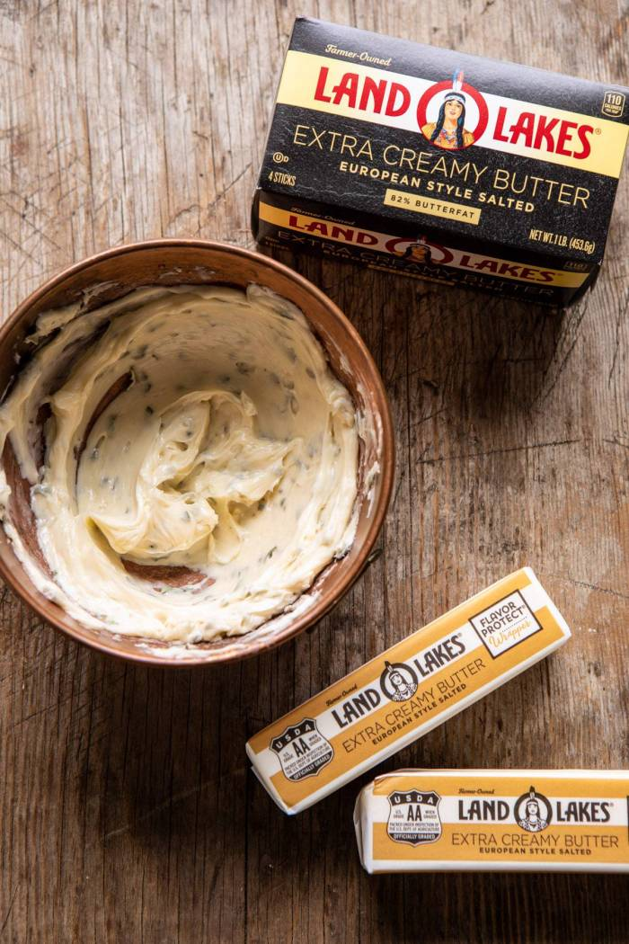 herb butter in bowl