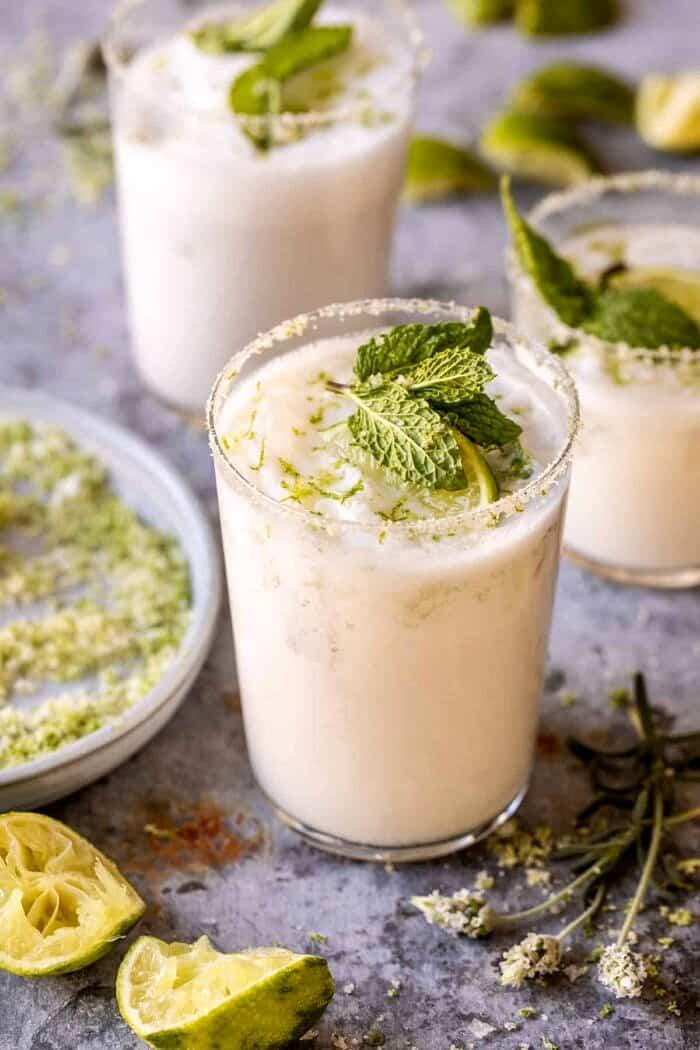 Creamy Coconut Lime Mojito