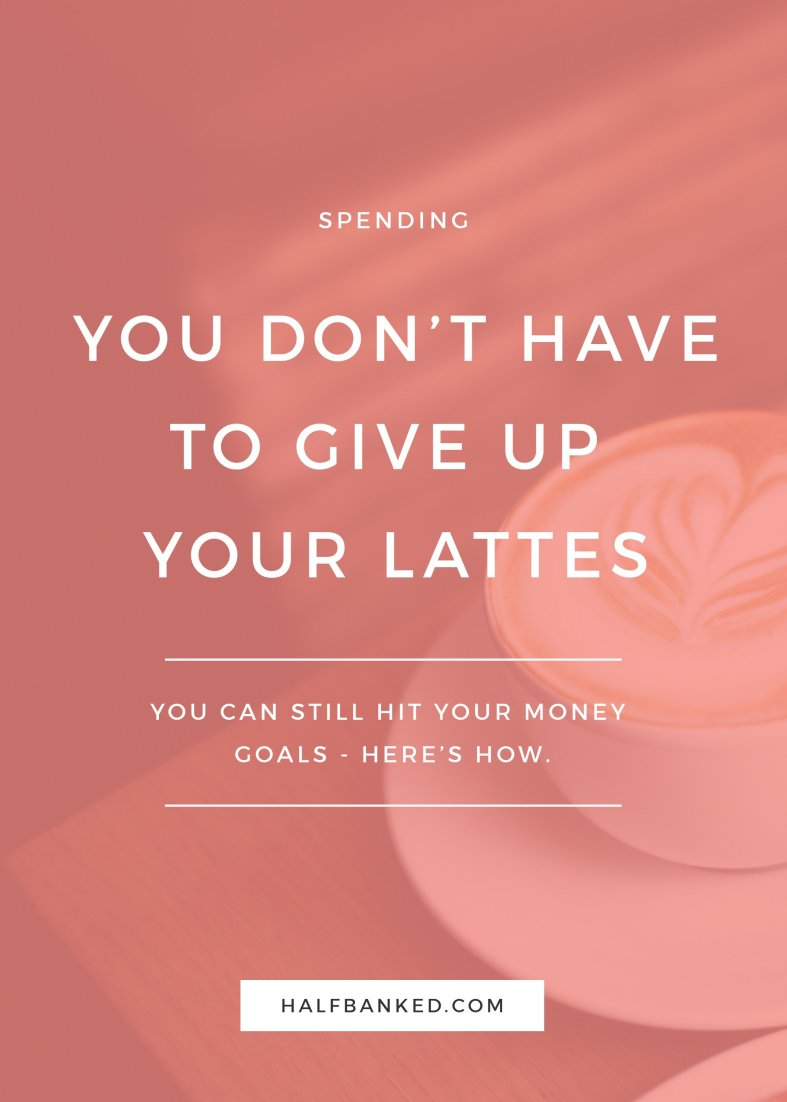 You don't have to give up lattes to be good with money. Here's how I achieved my financial goals without giving up fancy coffee.