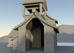 Model Lake House Project (3D Art)