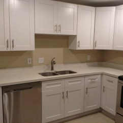 Instock Kitchen Cabinets Rustic Painted White Shaker Fort Lauderdale, Fl | New Bathroom ...