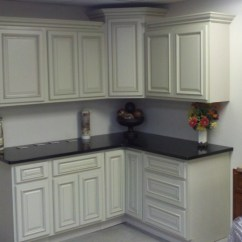 Raised Panel Kitchen Cabinets Create Layout Ivory Glazed Best Priced Painted Bathroom