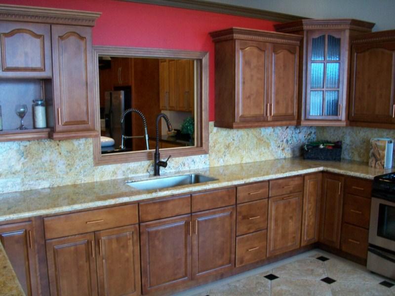 walnut cabinets kitchen wall tile designs wood bathroom