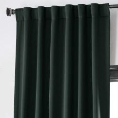 Dining Chair Covers Velvet Wedding Decorations Diy Get Dark Mallard Green Blackout Curtain And Drapes