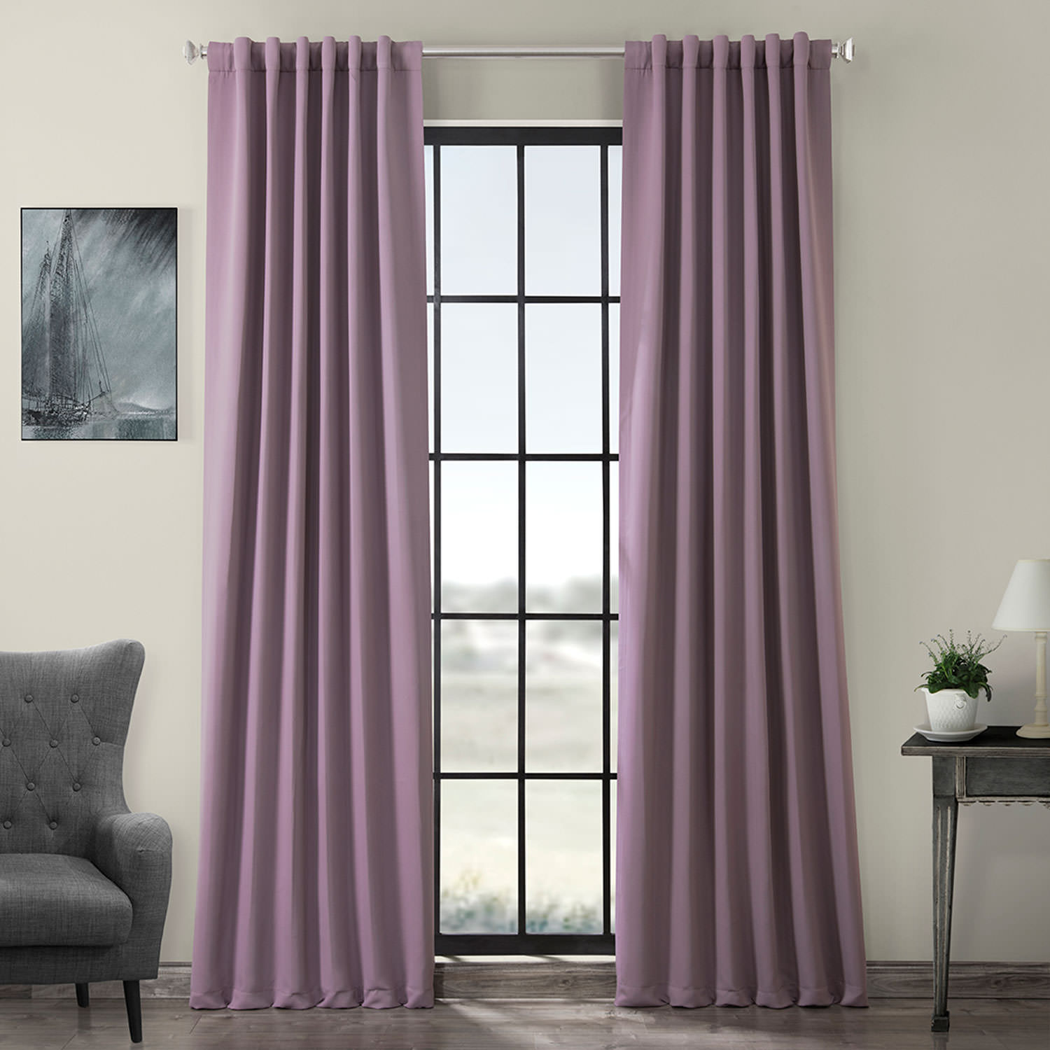 Purple Rain Blackout Curtain  Drapes