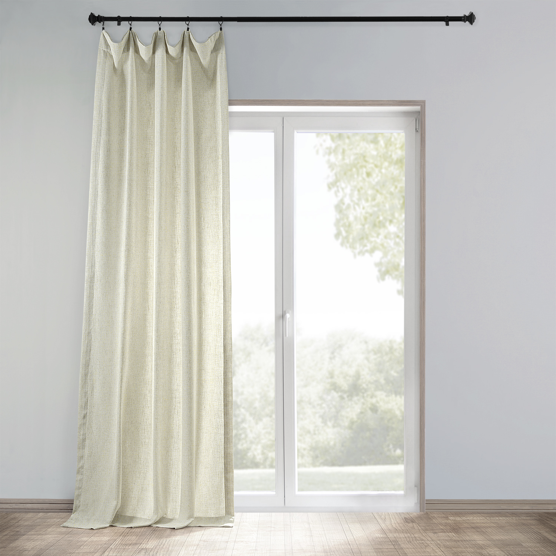 Buy Barley Heavy Faux Linen Curtain  Drapes  HalfPriceDrapes